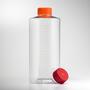 Corning® 850cm² Polystyrene Roller Bottle with Easy Grip Vent Cap, 2 per Bag, 40 per Case