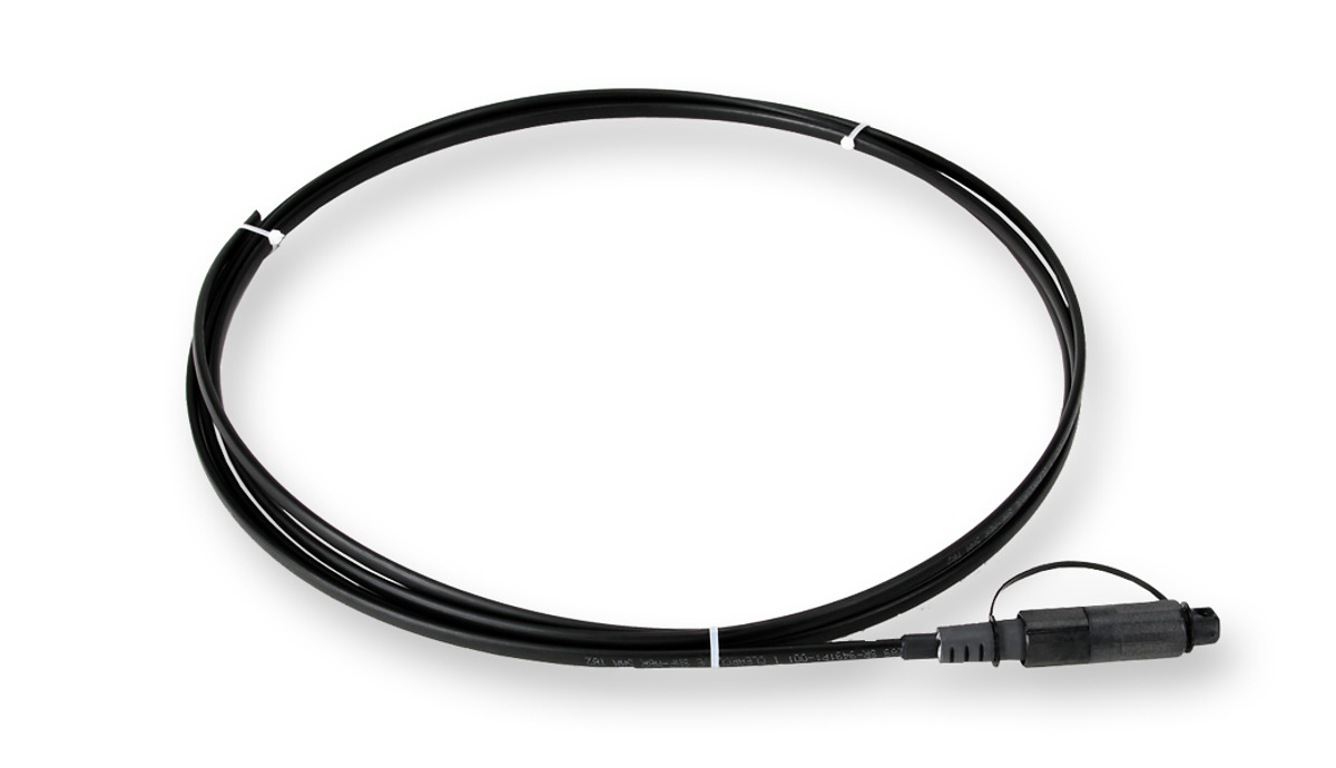 OptiTap® SST-Drop™  Indoor/Outdoor Cable Assembly, OptiTap to stub end, 1F, Dielectric, Gel-Free