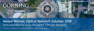 Award Winner, Optical Network Solution 2018