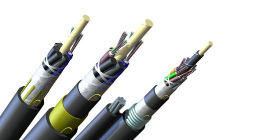 self-supporting fiber optic cable