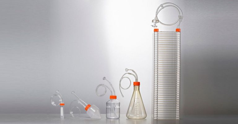 Closed System Bottles and Tubes and Flasks