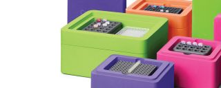 Corning CoolBox and CoolRack