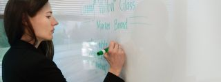 Corning® Willow® Glass Marker Boards