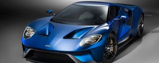 Ford GT Supercar blue