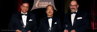 ACS Heroes of Chemistry award bookbinder tandon li