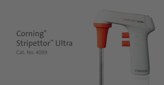 Corning® Stripettor™ Ultra Pipet Controller with 3-position Charging Stand