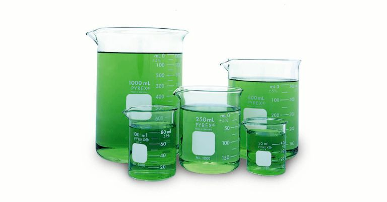 Beakers, Glass