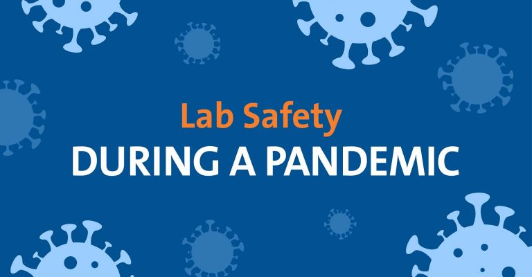 Lab Safety During a Pandemic Infographic