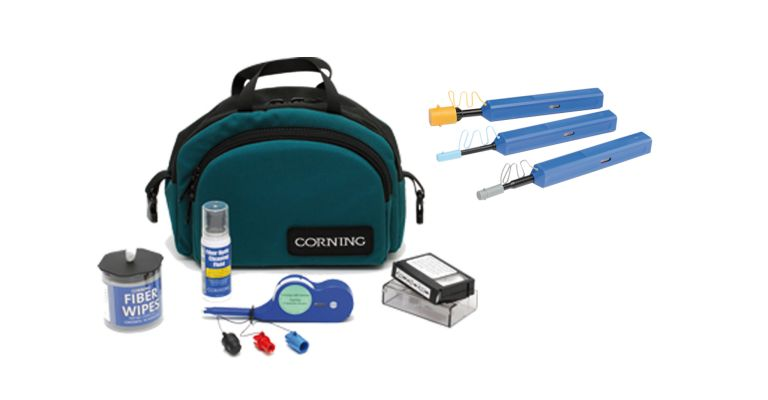 fiber optic cleaning accessories