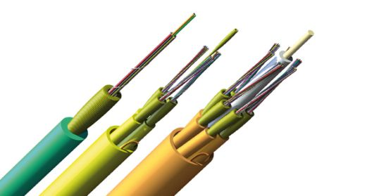 distribution indoor fiber optic cable