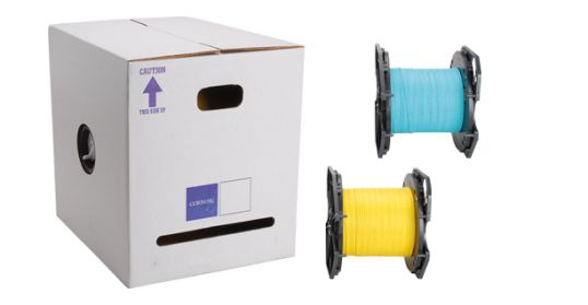 reel in a box indoor fiber optic cable
