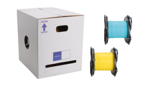 reel in a box indoor outdoor fiber optic cable