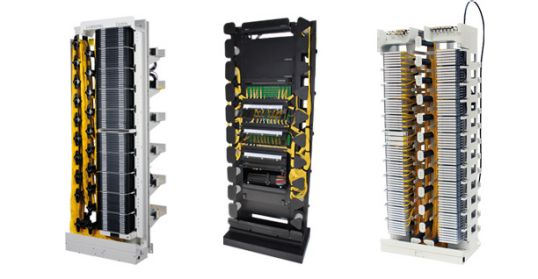 Fiber Optic Hardware Racks and Frames