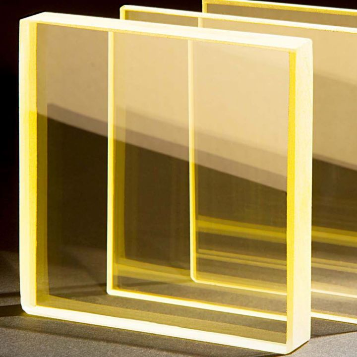 radiation shielding glass