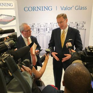 North Carolina High Volume Manufacturing Facility For Corning Valor Glass Pharmaceutical Technologies Corning