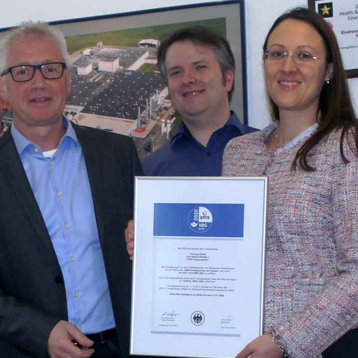 kaiserslautern plant receives occupational health and safety award
