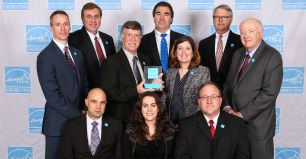Corning Celebrates Award in Energy Management
