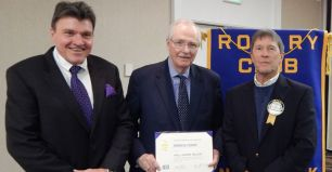 Former CFO Honored for His Commitment to Community Service and the Arts