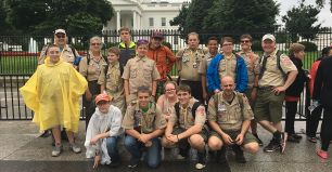 Corning Employees Guide Scout Troop
