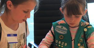 Corning Hosts Local Girl Scout Troops for STEM Workshops