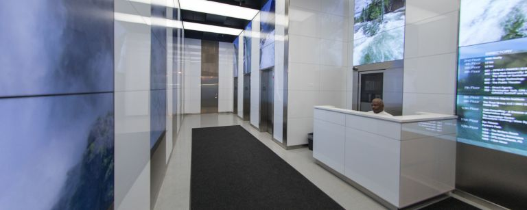 Corning® Gorilla® Glass for Interior Architecture at 740 Broadway