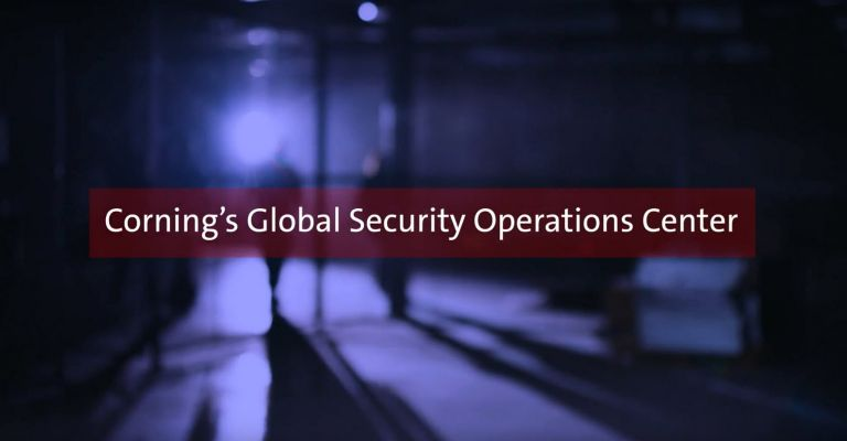 Corning's Global Security Operations Center (GSOC)