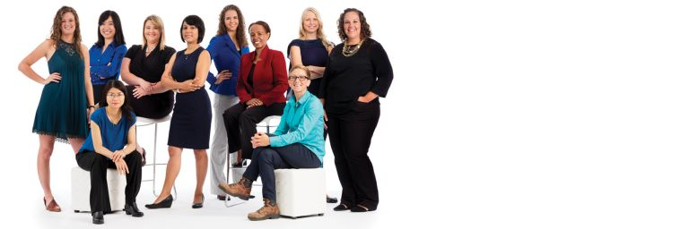 Women at Corning: Shaping a brighter, clearer future.