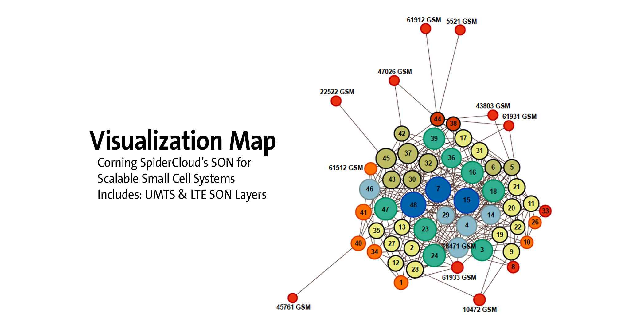Visualization Map SpiderCloud SON