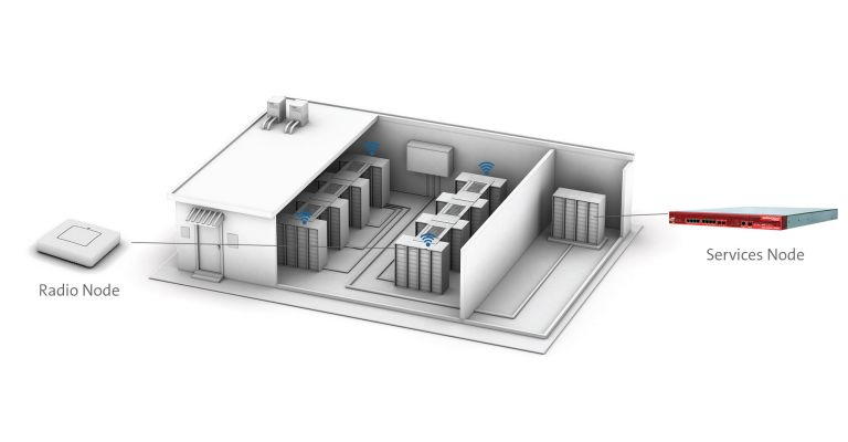 Typical Small Cell Installation in a Data Center
