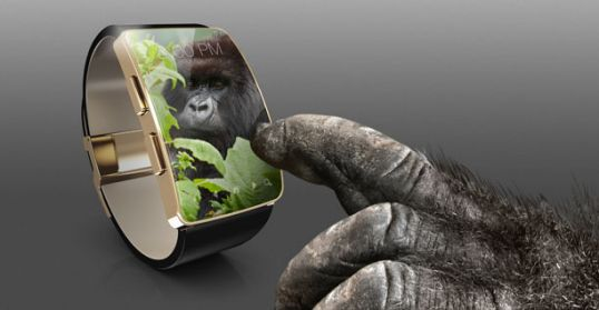 Wearables with Gorilla Glass