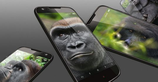 Corning Gorilla Glass for smartphones