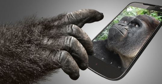 Smartphones with Gorilla Glass