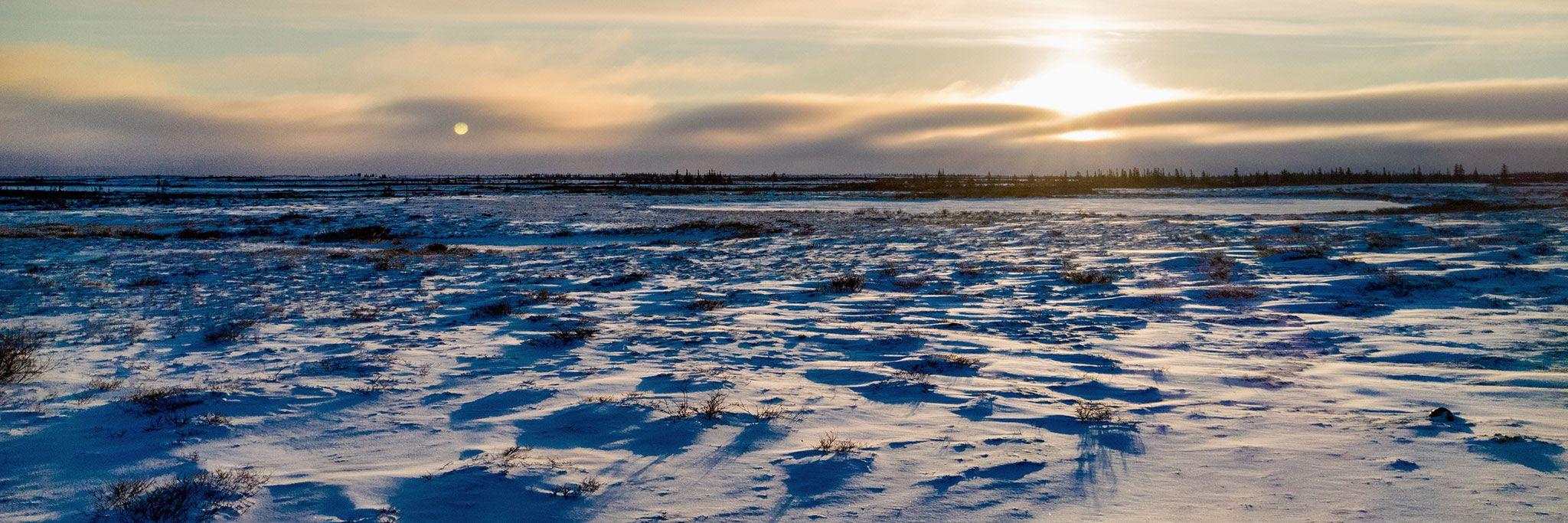 Path Across Frozen Arctic Tundra Was >> Incredibly Tough A Polar Adventure Sherry Ott And Juliana Dever