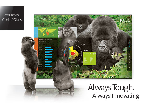 Large Cover Gorilla Glass
